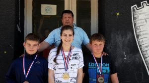 94. Osvajači medalja U-16